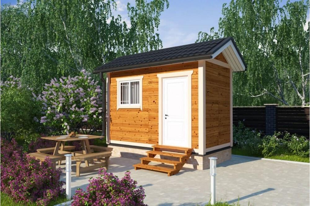 Дачный домик 2.3×4 м.