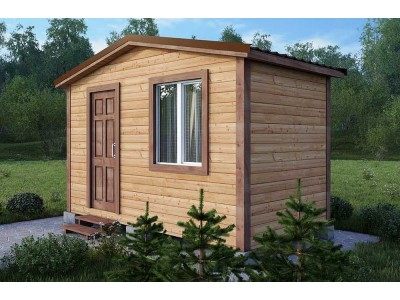 Дачный домик 2×4 м.