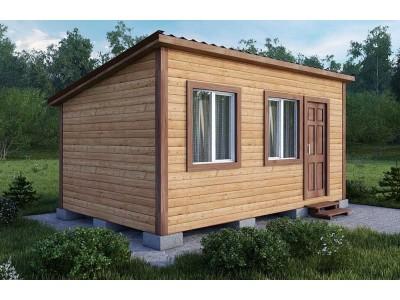 Дачный домик 3×4.6 м.