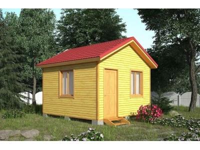 Дачный домик 4×4 м.