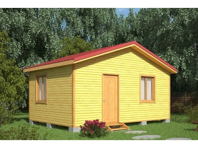 Дачный домик 5×4 м.
