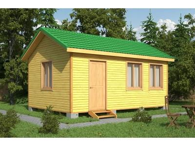 Дачный домик 6×4 м.