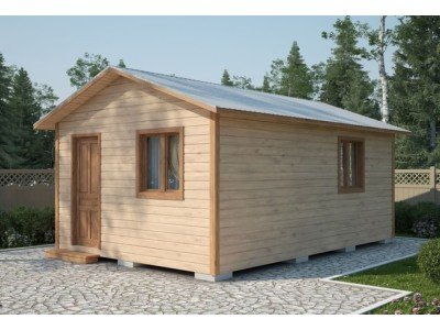 Дачный домик 6×4.6 м.