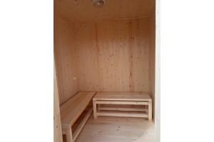 Мобильная баня 2х4 м.